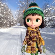 Snow Baby! #Church #love #kennerblythe #blythe #snow #snowsaster #snowpocalypse #kenner #KB #blizzard | Flickr - Photo Sharing!