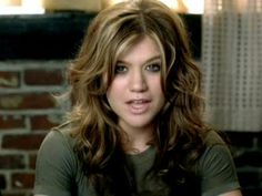 love her hair in this video!!---kelly clarkson since you've been gone - Google Search