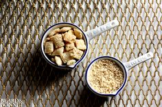 DIY: Gluten-Free Panko - As in, crushed Chex mix... why did I not think of this?!
