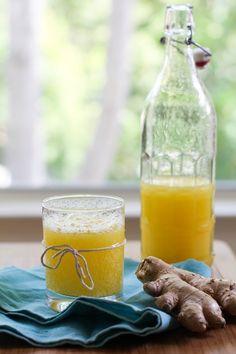 Orange Ginger Kefir Soda for Julia Mueller's Delicious Probiotic Beverages Cookbook