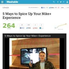 http://mashable.com/2013/06/21/nike-accelerator-demo-day-sf/ 5 Ways to Spice Up Your Nike+ Experience | #Indiegogo #fundraising http://igg.me/at/tn5/
