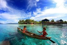 Arborek island, Raja Ampat, Indonesia.