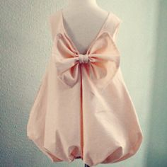 would love my lil girl wear this for special occasion... So adorable!