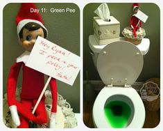 LOVE these Elf on the Shelf ideas from The Baking Sheet.totally doing elf on the shelf this year! Christmas Elf, All Things Christmas, Christmas Bedroom, Christmas Ideas, Christmas Carol, Christmas Movies, Christmas Projects, Christmas Baking, Christmas Humor