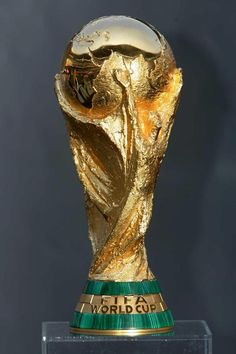 FIFA Brazil World Cup 2014 goes to . Russia World Cup, Brazil World Cup, World Cup 2014, Fifa World Cup, Arsenal Wallpapers, Football Trophies, Sports Trophies, World Cup Trophy, Nike Football Boots