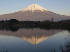 Mt.Fuji- great views from Fuji-go-ko, Five Lakes of Fuji - Lake Kawaguchi-ko, Lake Yamanaka-ko, Lake Motosu-ko, Lake Sai-ko & Lake Shoji-ko. Lake Kawaguchi-ko is conveniently located. From the Shinjuku Highway Bus Terminal, there are non-stop bus services to Lake Kawaguchi-ko every hour. The Japanese tourists love to stay overnight at an onsen-yado hot-spring inn (Ryokan) or hotel where they can admire Mt. Fuji while relaxing in an open-air hot-spring bath.