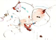 "Chirograph 8 by Alison Cooley, mixed media on paper, 29.5"" x 41"""