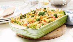 Ein leckerer Auflauf mit Gemüse und Nudeln abwechslungsreich kombiniert.