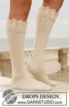 So delicate, romantic, I so can see me knitting these soon.  ;)
