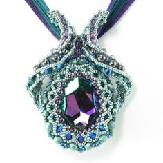 Sorceress's Mirror Pendant by Cindy Holsclaw