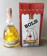 BOLS BALLERINA MUSIC BOX CREME DE MENTHE SEALED BOTTLE IN BOX, WORKS, CIRCA 1957 Music Box Ballerina, My Love, Ebay, Bowls