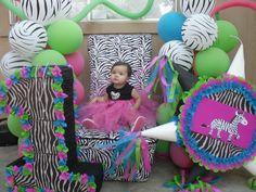 Bibi C's Birthday / Colorful Zebra Party - Photo Gallery at Catch My Party Zebra Birthday, Birthday Ideas, Birthday Parties, Zebra Party, Wild Ones, Party Photos, Zebra Print, Cake Ideas, Ava