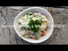 Savoare și arome - Salata tip boeuf - sezon 4 episod 12 - YouTube Mai, Food Videos, The Creator, Tips, Youtube, Youtubers, Youtube Movies, Counseling