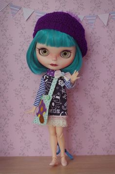 OOAK Custom Blythe doll on by splattergirluk