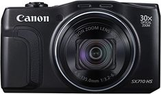Canon PowerShot SX710 HS Digitalkamera (20,3 Megapixel CMOS, HS-System, 30-fach optisch, Zoom, 60-fach ZoomPlus, opt. Bildstabilisator, 7,5 cm (3 Zoll) Display, Full HD Movie 60p, WLAN, NFC) schwarz - http://kameras-kaufen.de/canon/canon-powershot-sx710-hs-digitalkamera-20-3-cmos-7