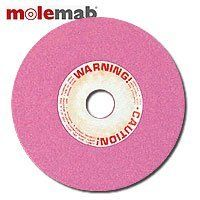 """Molemab Grinding Wheel (5-3/4"""" X 5/16"""") by Molemab. $13.99. Molemab has been making grinding wheels in Italy since the early 60's and their quality is second to none. We stock Molemab grinding wheels for most Italian and Chinese made chain grinders. These wheels are made of vitrified aluminum oxide material of medium hardness. These wheels are soft enough to remove material quickly, but hard enough to keep their shape. 5/16"""" thick wheel sharpens 3/4"""" pitch harvester... Harvester, Mold Making, Grinding, Pitch, Equestrian, Chains, Wheels, Outdoors, Italy"""