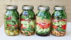 Mason jar salad!