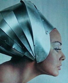 theswingingsixties: Domina in space age fashion, 1968 - gratefully repinned by RokStarroad.com