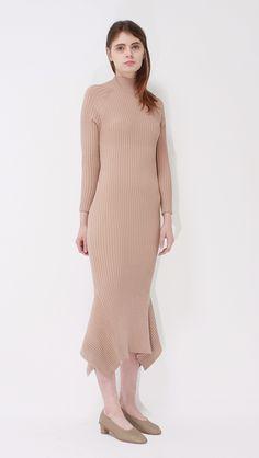 Leroy Dress   LOÉIL #backless #knitdress #minimal