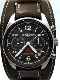 c6b4afd642c Bell   Ross Military Type Chronograph. Relógios De Pulso ...