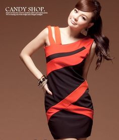 Asymmetric OL Dress
