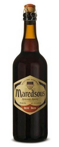 Cerveja Maredsous 8 Bruin, estilo Belgian Dark Strong Ale, produzida por Brouwerij Moortgat, Bélgica. 8% ABV de álcool.