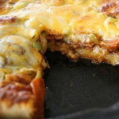 Deep-Dish Skillet Pizza Recipe | MyRecipes.com