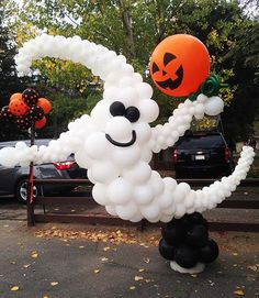 Image result for halloween organic balloon creations