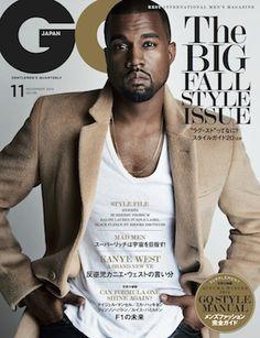 GQ JAPAN11月号はカニエ・ウェストが表紙|メンズファッション、時計、高級車、男のための最新情報|GQ JAPAN