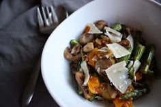 Cook Like It's Easy: Roasted Garlic and Rosemary Vegetables with Shaved Parmesan