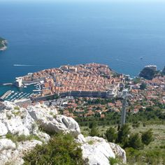 Looking from the top of the hill, #Dubrovnik, Croatia.