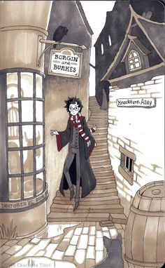 Harry Potter by Noke's Art
