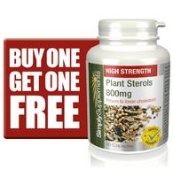 Plant Sterols are proven to lower cholesterol. More info...we need 2,000 milligrams per day.