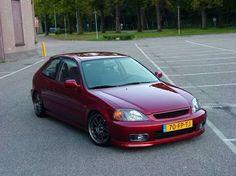 Image result for honda civic hatchback 2000