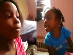Little Girls Viciously Cuss Each Other Out SMDH