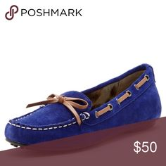 🆕NIB Sam Edelman Fletcher Moccasin Suede upper with synthetic bow detail and trim. Padded insole and rubber sole. Sold out. Price firm. Bundle to save more. Sam Edelman Shoes Moccasins