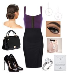 """""""High school reunion"""" by thomprhe ❤ liked on Polyvore featuring WearAll, Miu Miu, Dogeared, Lipsy and Abercrombie & Fitch"""