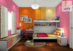 احدث ألوان دهانات غرف اطفال مودرن - 20 تصميم جديد لأحدث غرف اطفال 2017 - لوكشين ديزين . نت