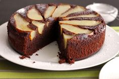 Scientifically Sweet: Flourless Chocolate Pear & Hazelnut Cake