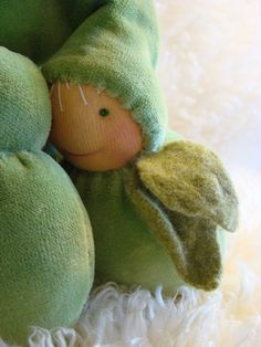 Waldorf doll 12 cm/a 7 inch Peas gnome by hawthornsprite on Etsy Waldorf Dolls, Gnomes, Dinosaur Stuffed Animal, Toys, Handmade Gifts, Sew, Activity Toys, Kid Craft Gifts, Clearance Toys
