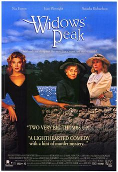 Directed by John Irvin. With Joan Plowright, Mia Farrow, Natasha Richardson, Adrian Dunbar. In an English widow moves to Widows' Peak, Ireland. She befriends other widows and the son of one. Netflix Movies To Watch, Movie To Watch List, Tv Series To Watch, Good Movies To Watch, Great Movies, Movie List, Irish Movies, Old Movies, Love Movie