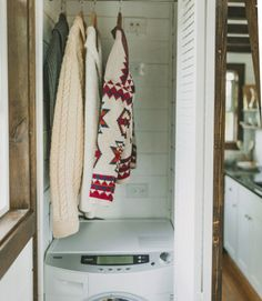 no need to take your travel trailer to the laundromat a washerdryer combo - Tiny House Washer Dryer 2