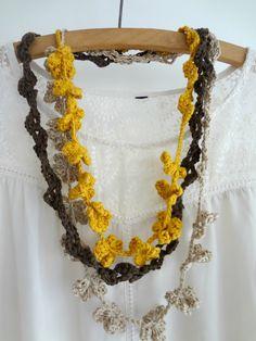 Bohemian Flowers Necklace Pattern