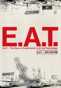 E.A.T. — The Story of Experiments in Art and Technology, In this exhibition, the ICC presents a sample of works with technological components that were created by American artists since the middle of the thanks to E.A.T. Robert Rauschenberg, New Media Art, New Art, Art And Technology, Digital Technology, Moon Museum, Nemo, Artist Project, Poster Ads