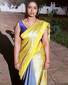 Saree models indian