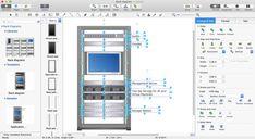 26 Automatic Server Rack Diagram Ideas - bookingritzcarlton.info Visio Network Diagram, Data Center Rack, Server Rack, Wood Rack, Nice Rack, Electrical Wiring, Ideas, Projects To Try, Wood Shelf