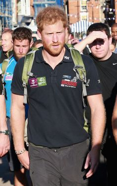 Prince Harry Photos: Prince Harry Joins Walking With the Wounded's Walk of…