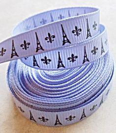 Paris party ribbon