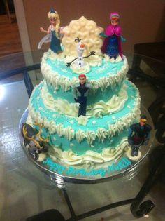 frozen cakes | Disney's Frozen Cake