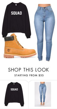 """""""Outfit #52"""" by malayam ❤ liked on Polyvore featuring Timberland"""